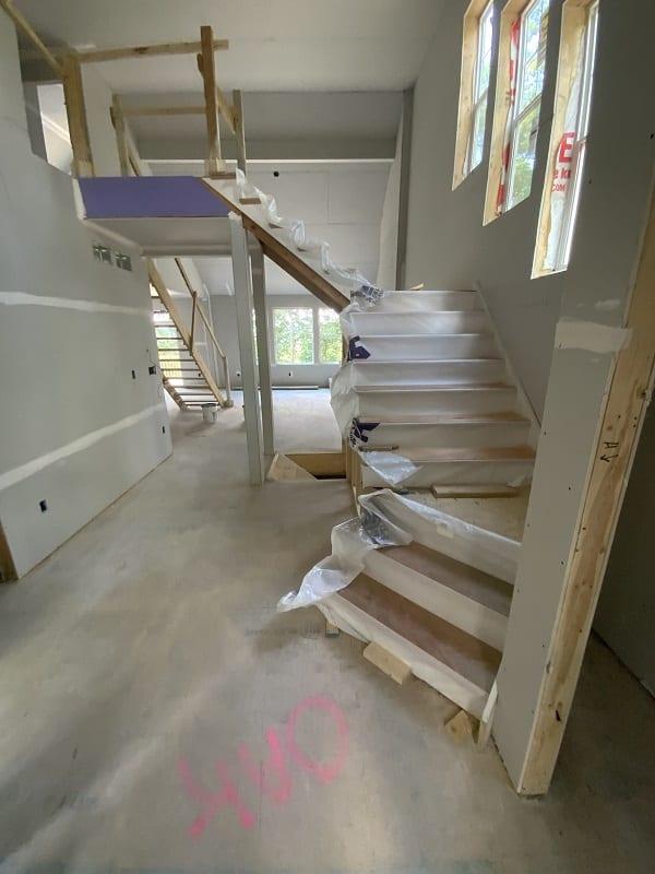 Geisler V1 construction stairs