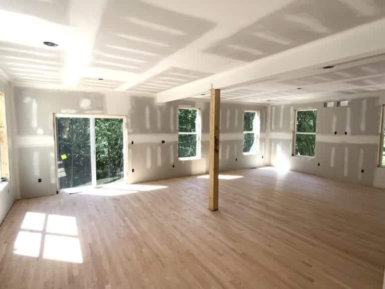 Garnet home interior hardwood floors