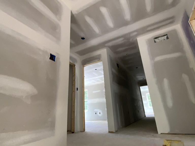 Garnet home interior walls construction
