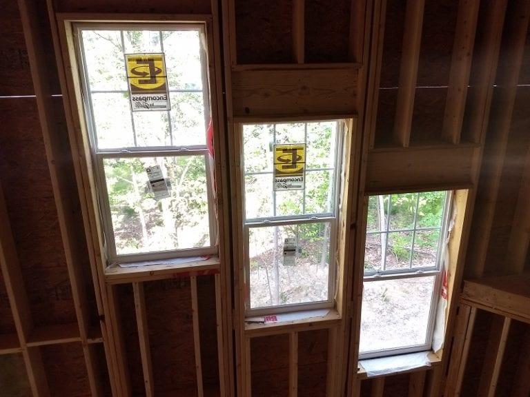 Geisler V1 interior construction windows