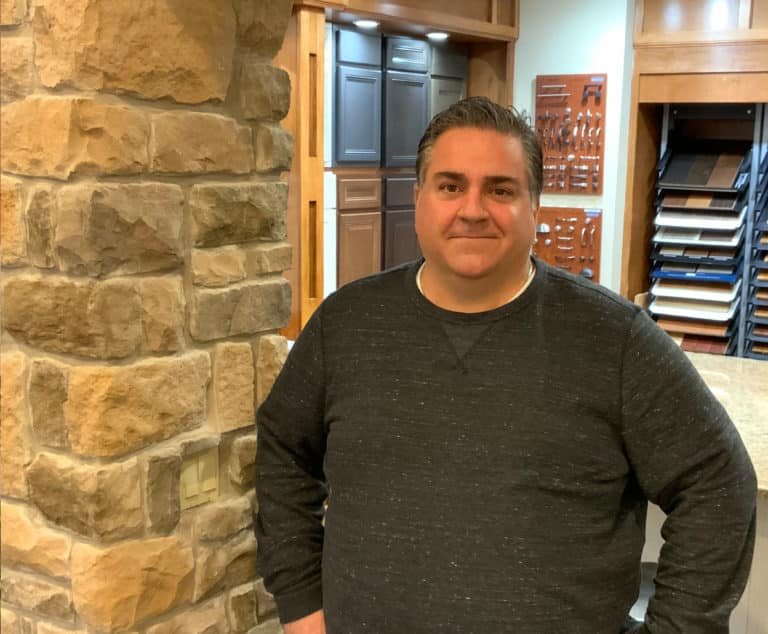 Photo of Joe Brown in design center