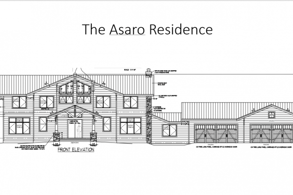 Asaro front elevation