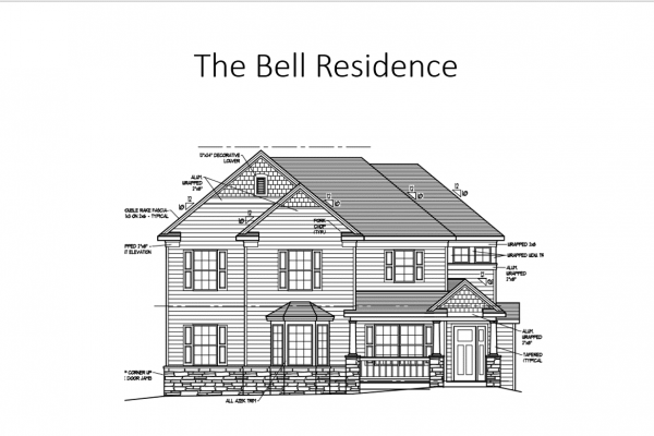 Bell front elevation