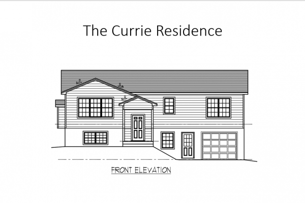 Currie front elevation