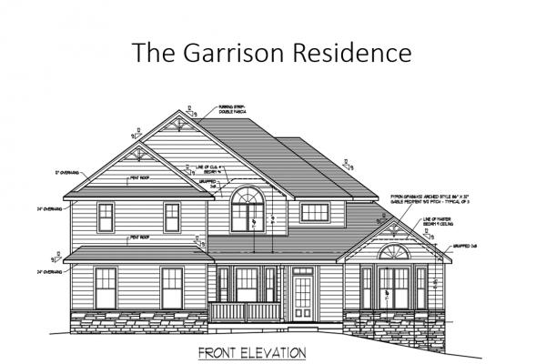 Garrison front elevation