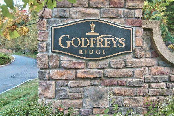 Godfrey's Ridge sign