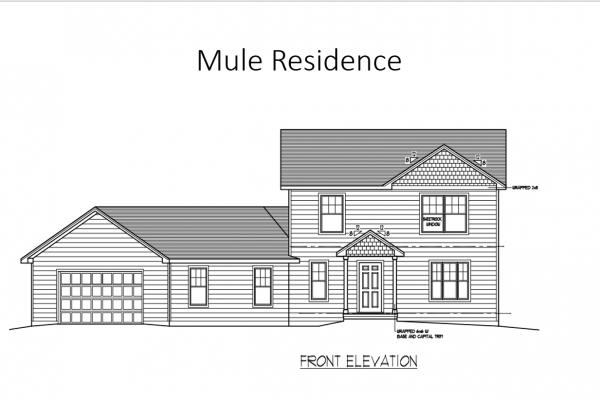 Mule front elevation