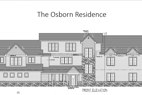 Osborn front elevation