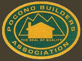Logo for Pocono Builders Association affiliation