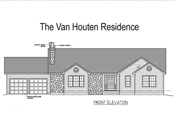 Van Houten Front Elevation