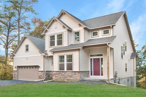exterior photo of the chesapeake home