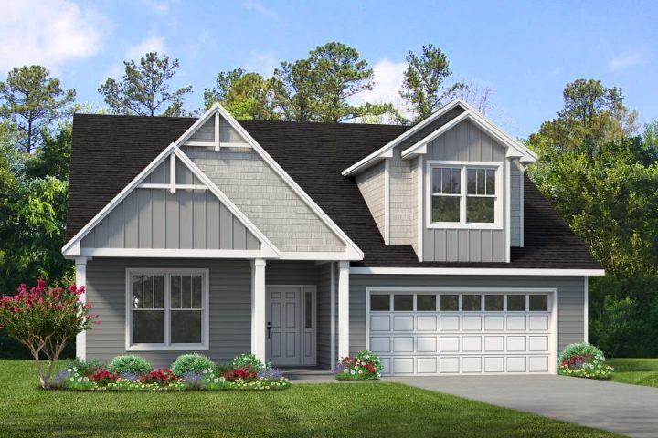 Ivy Cottage front elevation rendering