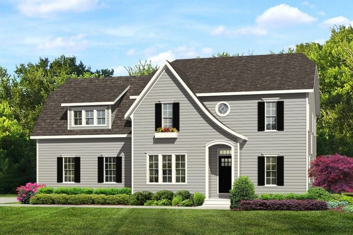 Rendering of Madison model home exterior