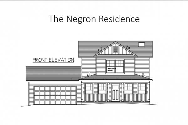 Negron front elevation