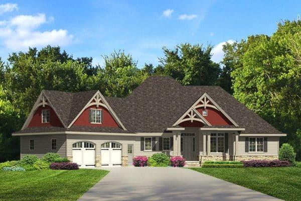 Rendering of Ripley model home exterior