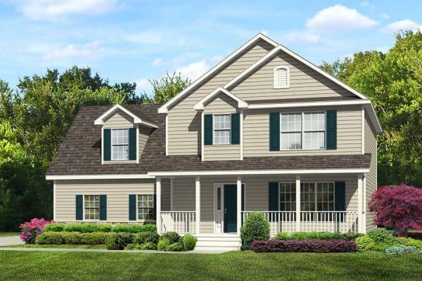 Rendering of Sampson model home exterior