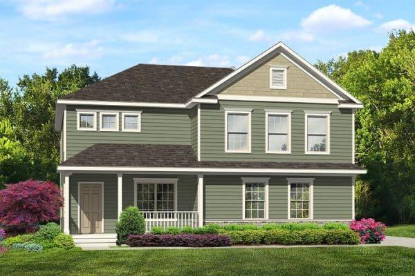 Stan Van model home exterior